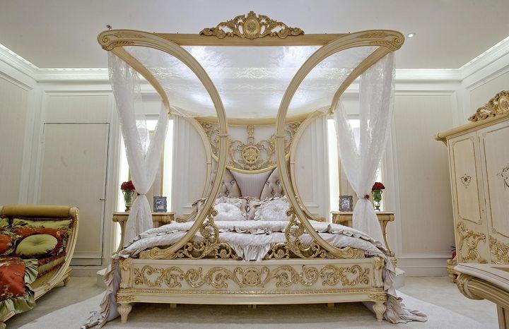 Балдахін над ліжком своїми руками (79 фото)