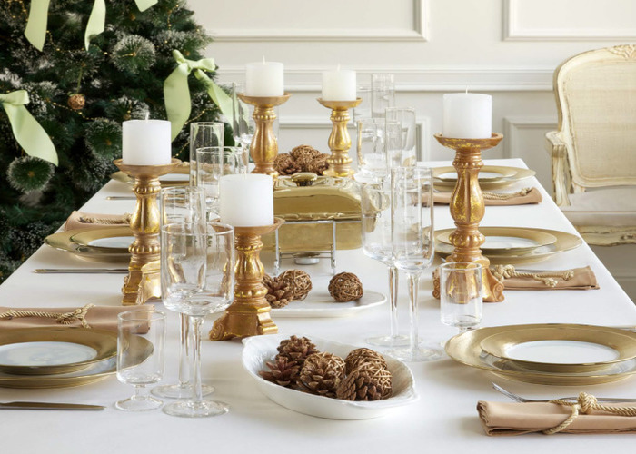 Як прикрасити стіл на Новий рік: традиційні варіанти і креативні ідеї (68 фото)