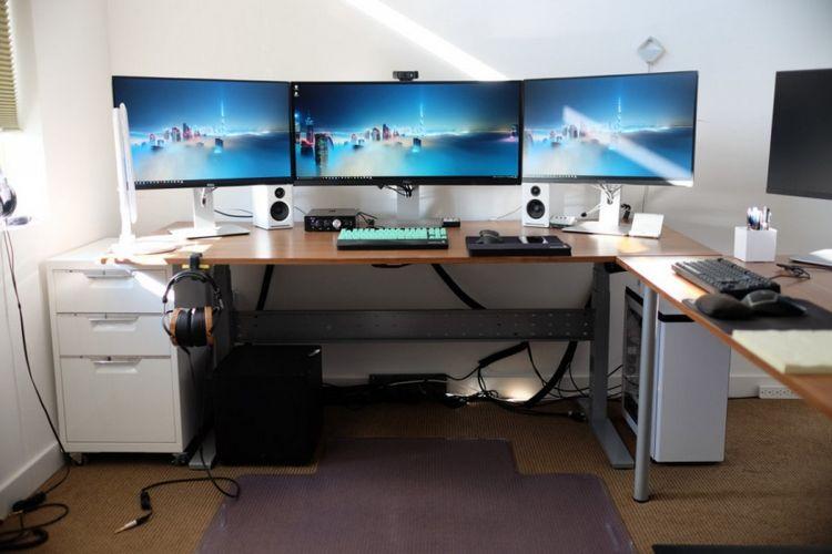 Комп'ютерний стіл ІКЕА - поради по збірці і інструкція по вибору оптимального варіанта (135 фото)